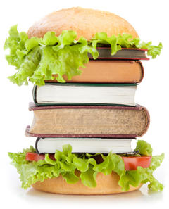 "This image is the actual result of the Google search string ""book lunch"". You're welcome."