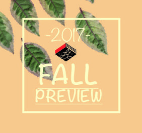 Fall Preview: Staff Picks