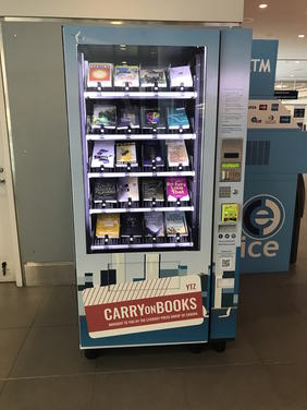 CarryOnBooks: Books! In Billy Bishop Toronto City Airport!