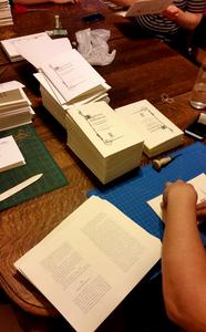 In House: Inside the Biblioasis Book-Binding Party