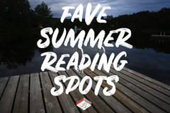 We Asked: Where's Your Favourite Place to Summer Read?