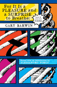 for it is a pleasure and a surprise to breath, book cover, gary barwin