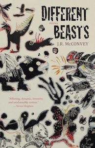 book cover, different beasts
