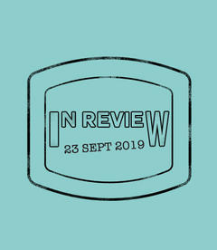 In Review: The Week of September 23rd