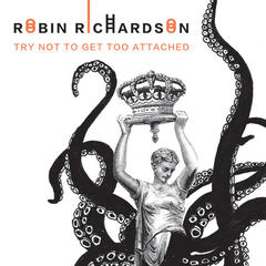 try not to get too attached, book cover, robin richardson