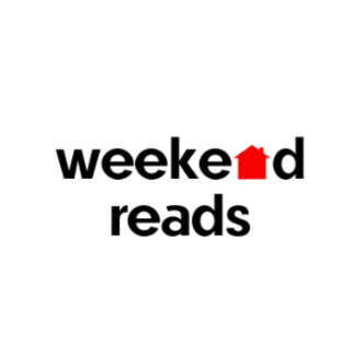 weekend reads, banner image