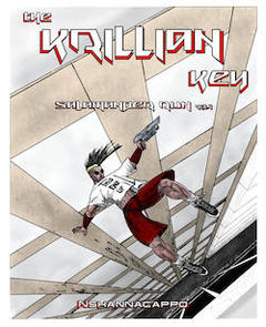 the krillian key, book cover