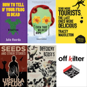 Cooking with Off/Kilter: 5 Books for Short Story Month
