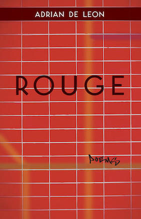 rouge, book cover, adrian de leon