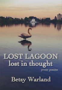 lost lagoon lost in thought, book cover, betsy warland