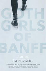 goth girls of banff, book cover, john o'neill