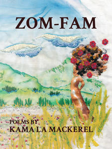zom-fam, book cover, kama la mackerel