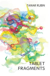 tablet fragments, book cover, tamar rubin