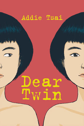 book cover, dear twin, metonymy press