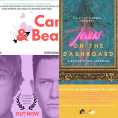 Character Study Double Bill: Jesus on the Dashboard + Cam & Beau