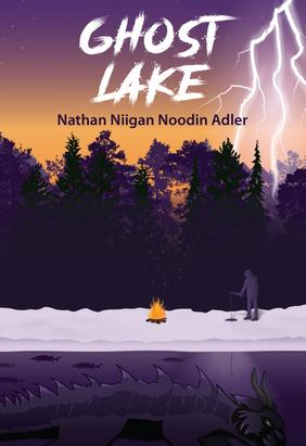 ghost lake, book cover, nathan niigan noodin adler
