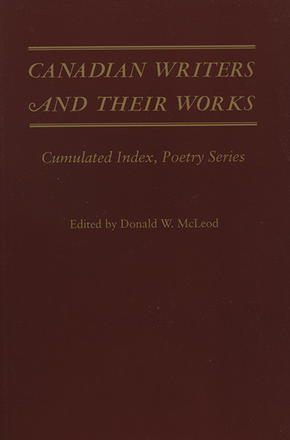 Canadian Writers and Their Works - Poetry Index