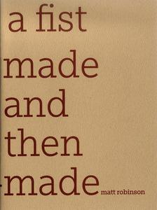 a fist made and then un-made