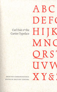 Carl Dair and the Cartier Typeface