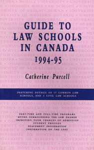 Guide to Law Schools in Canada