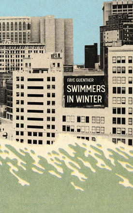 Swimmers in Winter