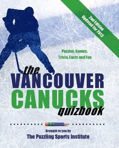 The Vancouver Canucks Quizbook