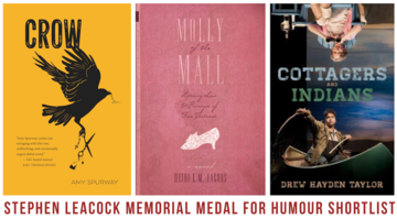leacock medal for humour shortlist