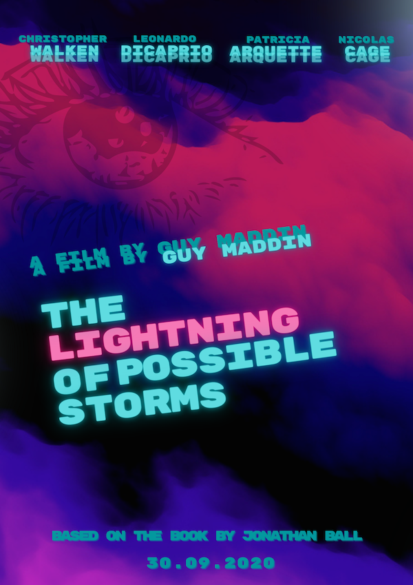 lightning of possible storms movie poster