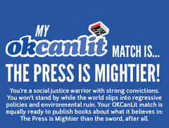 OKCanLit: The Press is Mightier