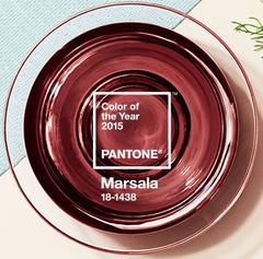 Pantone Colour of the Year: Marsala