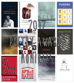 2017 Poetry Award Nominees