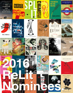 ReLit Award Nominees, 2016