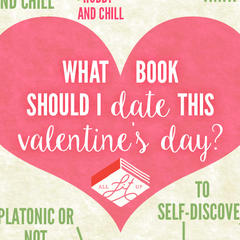 What Book Should You Date this Valentine's Day?: An ALU Infographic Matchmaker